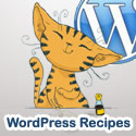 Daily recipes to cook with WordPress