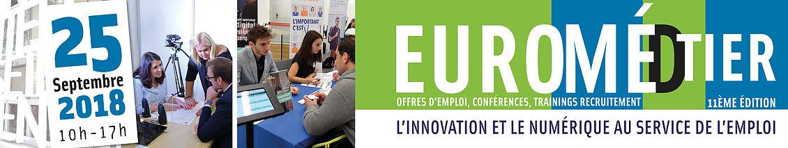 Euromédtier: Salon pour l'emploi du territoire d'Euroméditerranée